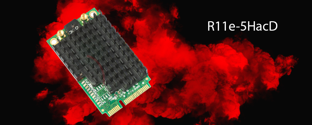 کارت وایرلس روتربرد R11e-5HacD میکروتیک
