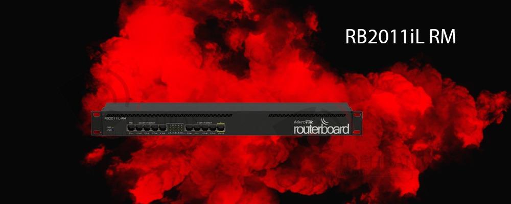 روتر RB2011iL-RM_ شبکه دیده بان