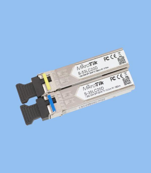 ماژول فیبرنوری S-3553LC20D میکروتیک