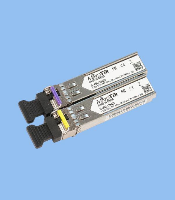 ماژول فیبرنوری S-4554LC80D میکروتیک