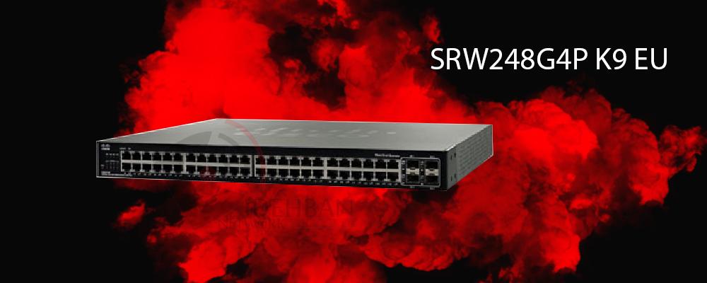 سوئیچ SRW248G4P-K9-EU