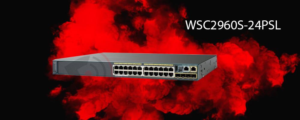 سوئیچ WS-C2960S-24PS-L
