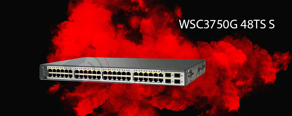 سوئیچ WS-C3750G-48TS-S