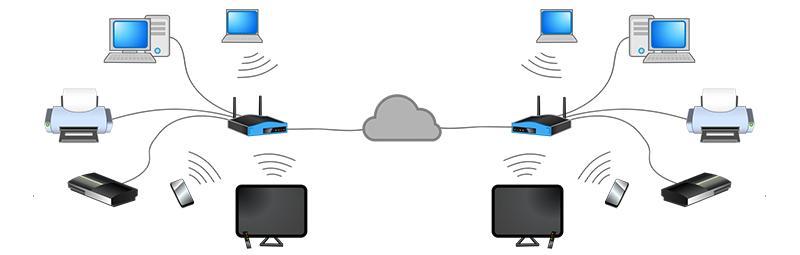 شبکه دیده بان_انواع شبکه های کامپیوتری