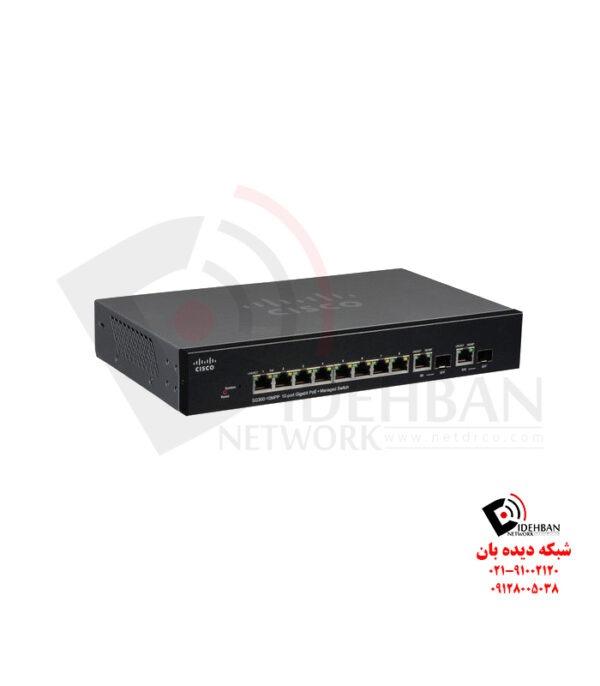 سوئیچ SF300-10MPP_شبکه دیده بان