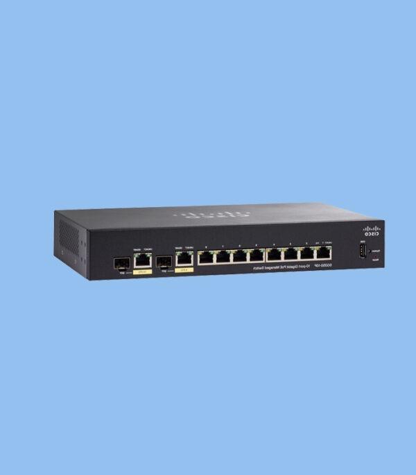 سوئیچ SG350-10P_شبکه دیده بان