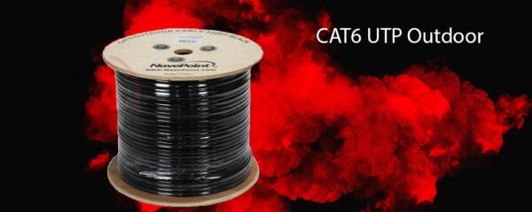 کابل شبکه نگزنس CAT6 UTP Outdoor
