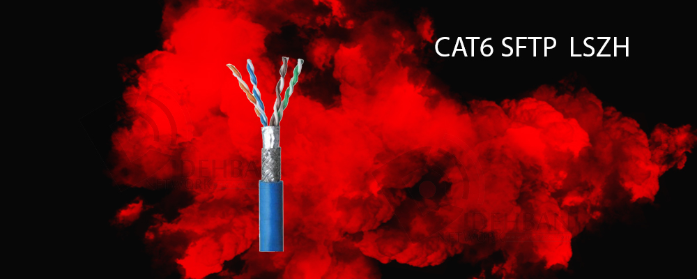 کابل شبکه لگراند Cat6 SFTP
