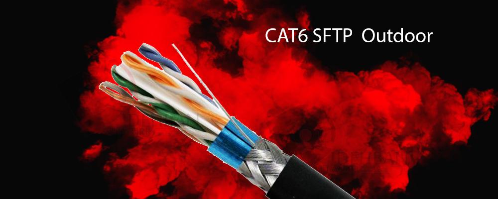 کابل شبکه نگزنس Cat6 SFTP Outdoor_شبکه دیده بان