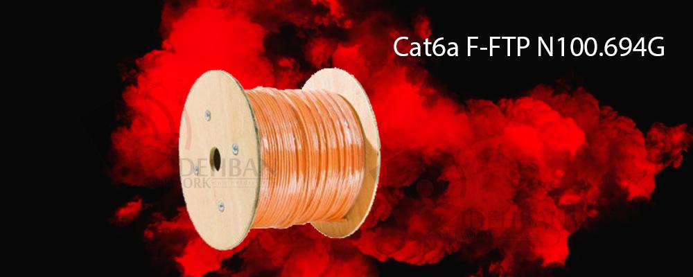 کابل شبکه نگزنس Cat6a F-FTP_ شبکه دیده بان