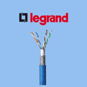 کابل شبکه لگراند Cat6 SFTP روکش PVC حلقه 500 متری تمام مس