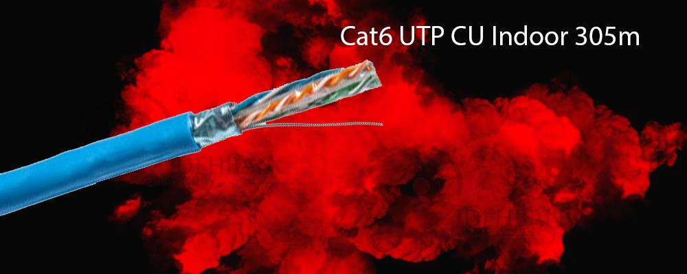 کابل شبکه سودن Cat6 UTP CU Indoor 305m