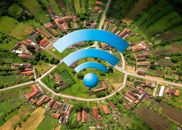 ایجاد ارتباطات روستایی و سرویس اینترنت روستاها