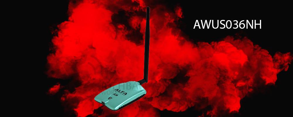 کارت شبکه آلفا Alfa awus036nh