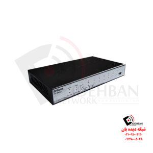 سوئیچ غیر مدیریتی DES-1009P+ دی لینک
