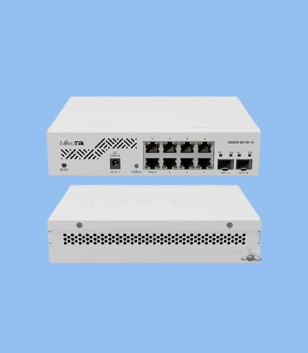 سوییچ CSS610-8G-2S+IN میکروتیک