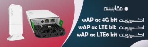 مقایسه wAP ac LTE kit ، wAP ac 4G kit و wAP ac LTE6 kit