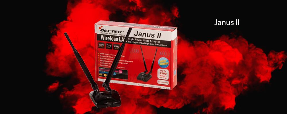 کارت شبکه USB جی تک Janus II