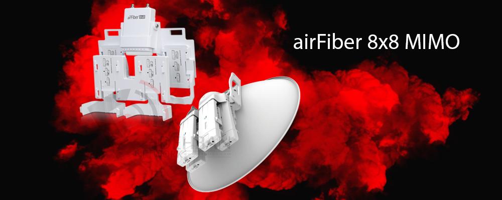 مالتیپلکسر airFiber 8x8 MIMO یوبیکویتی
