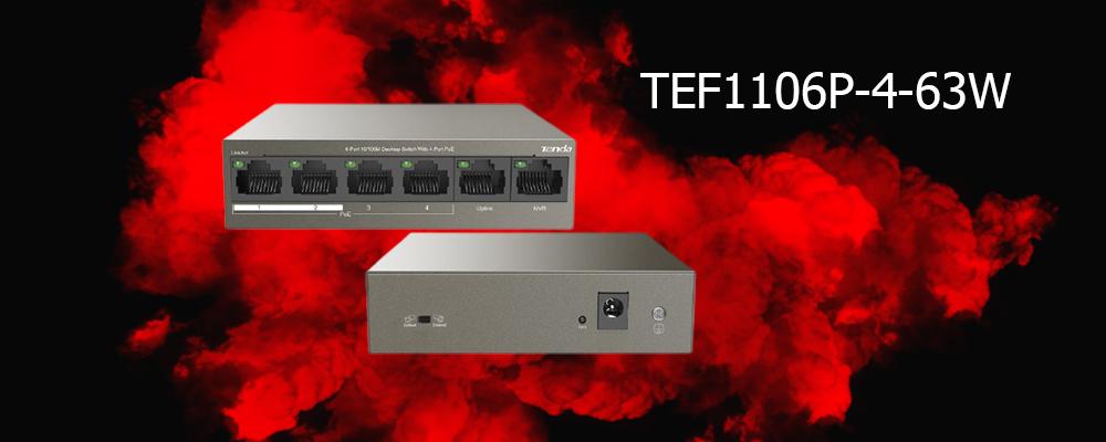 سوییچ TEF1106P-4-63W تندا