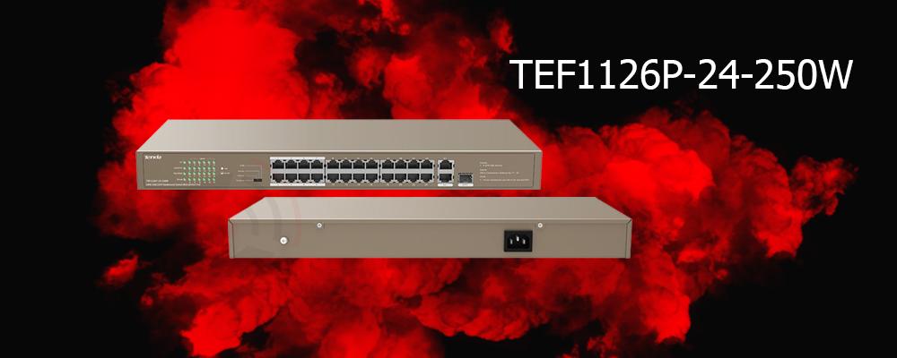 سوییچ TEF1126P-24-250W تندا