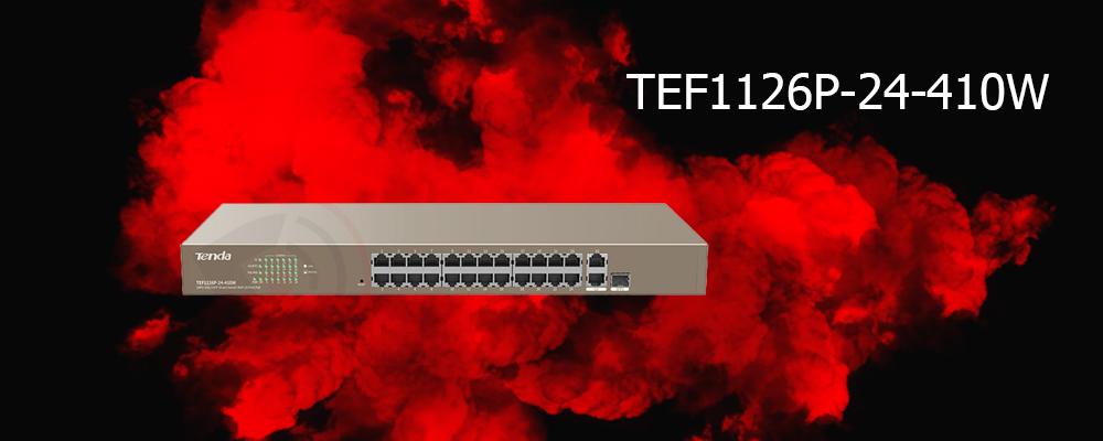 سوییچ TEF1126P-24-410W تندا