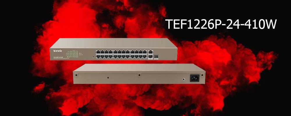 سوییچ TEF1226P-24-410W تندا
