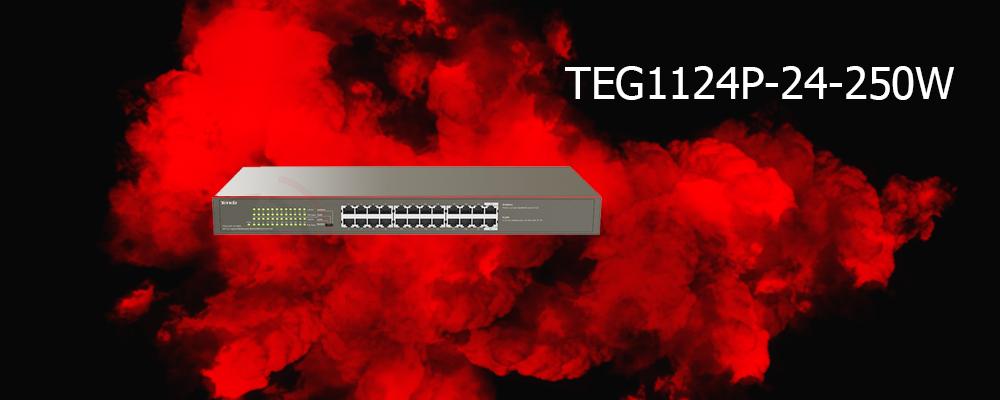 سوییچ TEG1124P-24-250W تندا