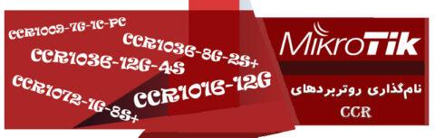نامگذاری روتربردهای CCR میکروتیک