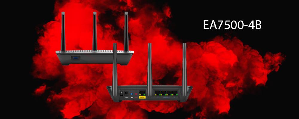 روتر EA7500-4B لینکسیس
