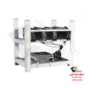 ریگ ماینینگ 176 مگاهش با 4 کارت گرافیک XFX RX5600XT DDR6