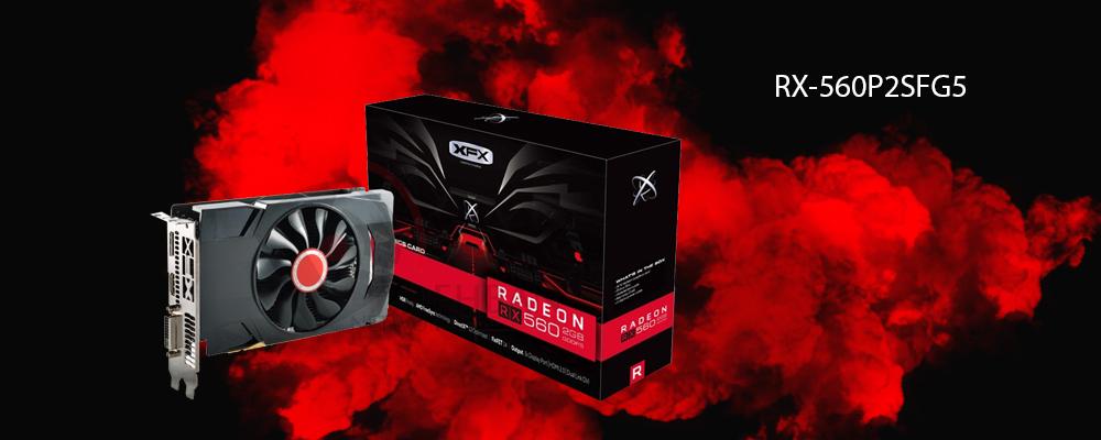 کارت گرافیک RX-560P2SFG5 XFX