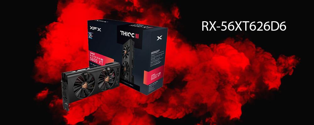 کارت گرافیک RX-56XT626D6 XFX
