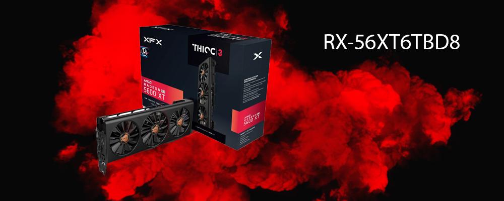کارت گرافیک RX-56XT6TBD8 XFX