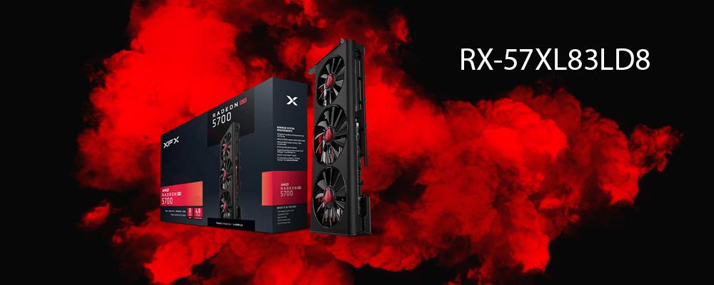 کارت گرافیک RX-57XL83LD8 XFX