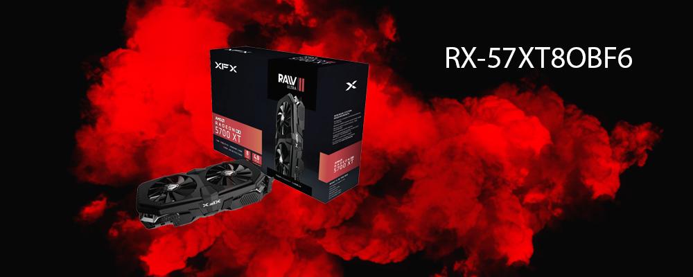 کارت گرافیک RX-57XT8OBF6 XFX