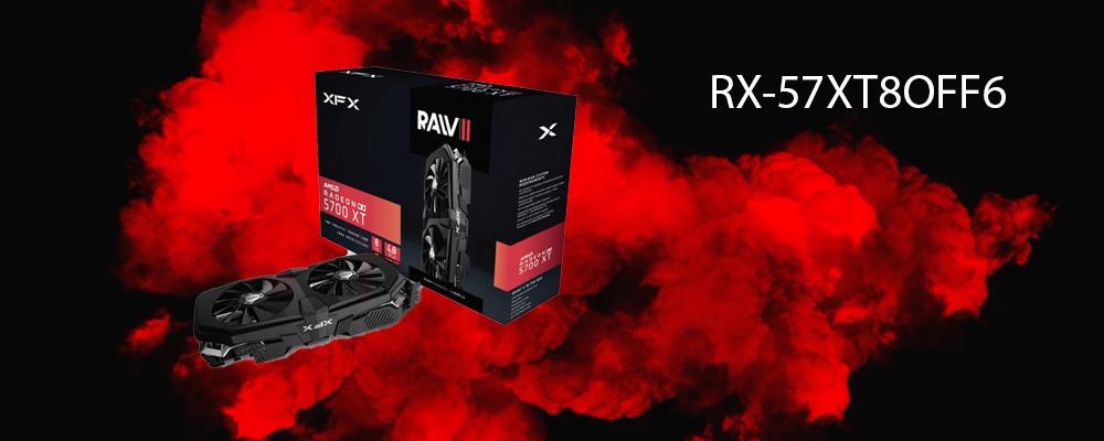 کارت گرافیک RX-57XT8OFF6 XFX