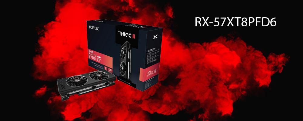 کارت گرافیک RX-57XT8PFD6 XFX