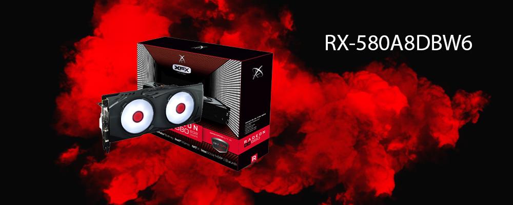 کارت گرافیک RX-580A8DBW6 XFX