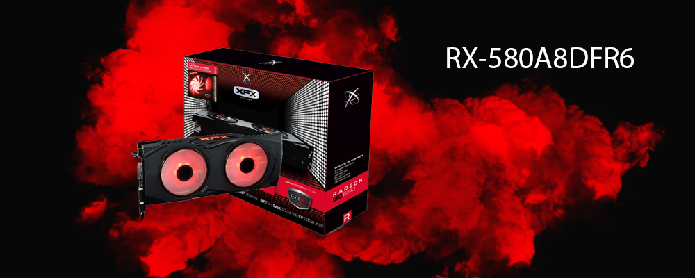 کارت گرافیک RX-580A8DFR6 XFX
