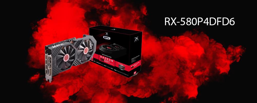 کارت گرافیک RX-580P4DFD6 XFX
