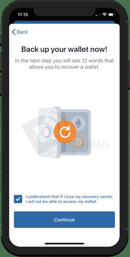 ساخت کیف پول Trust Wallet