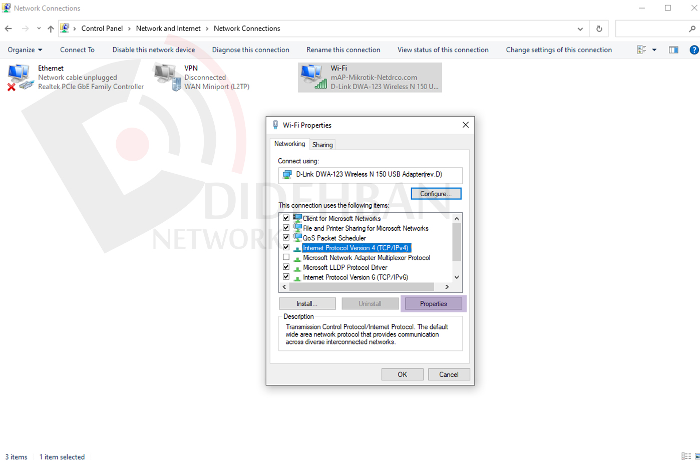 آموزش شبکه کردن دو کامپیوتر در ویندوز 10
