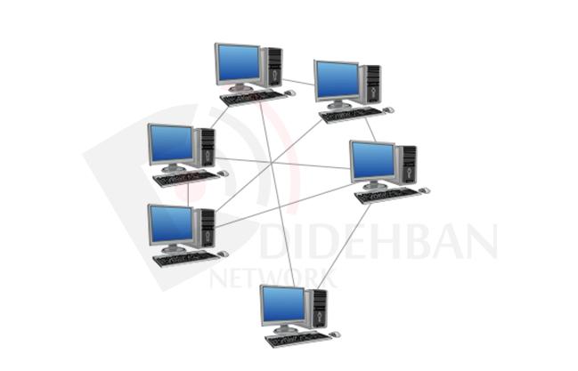 انواع توپولوژی در شبکههای کامپیوتری