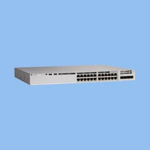 سوئیچ +PoE سیسکو C9200L-24P-4G-E