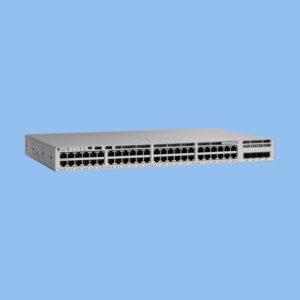 سوئیچ +PoE سیسکو C9200L-48P-4G-E